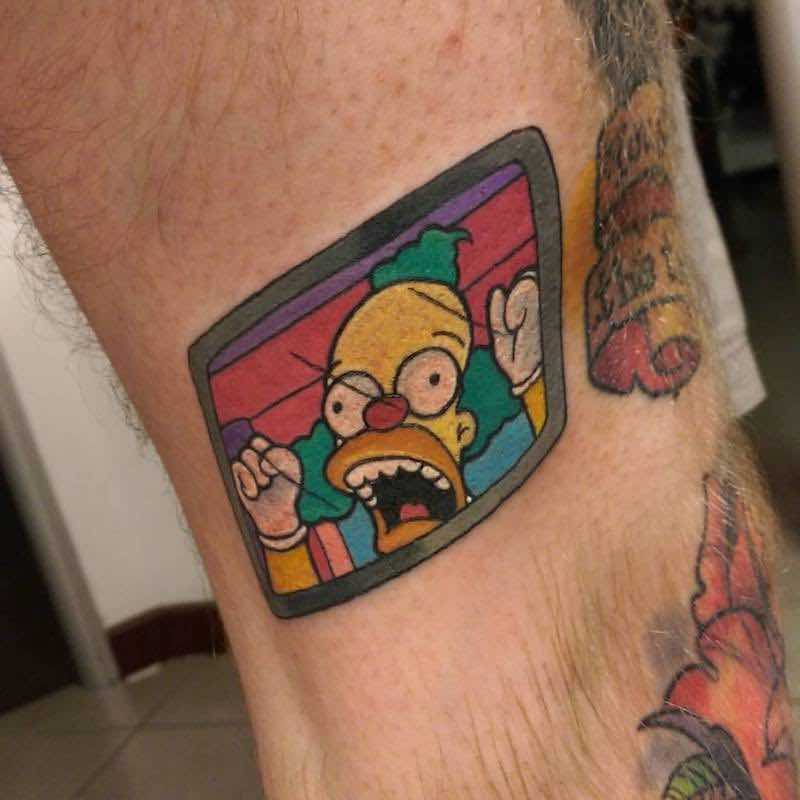 Simpsons Tattoo 4 by Chris Hill