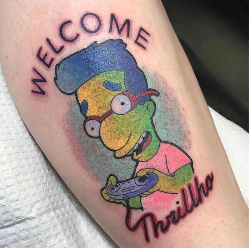 Simpsons Tattoo by Isashah Pereira