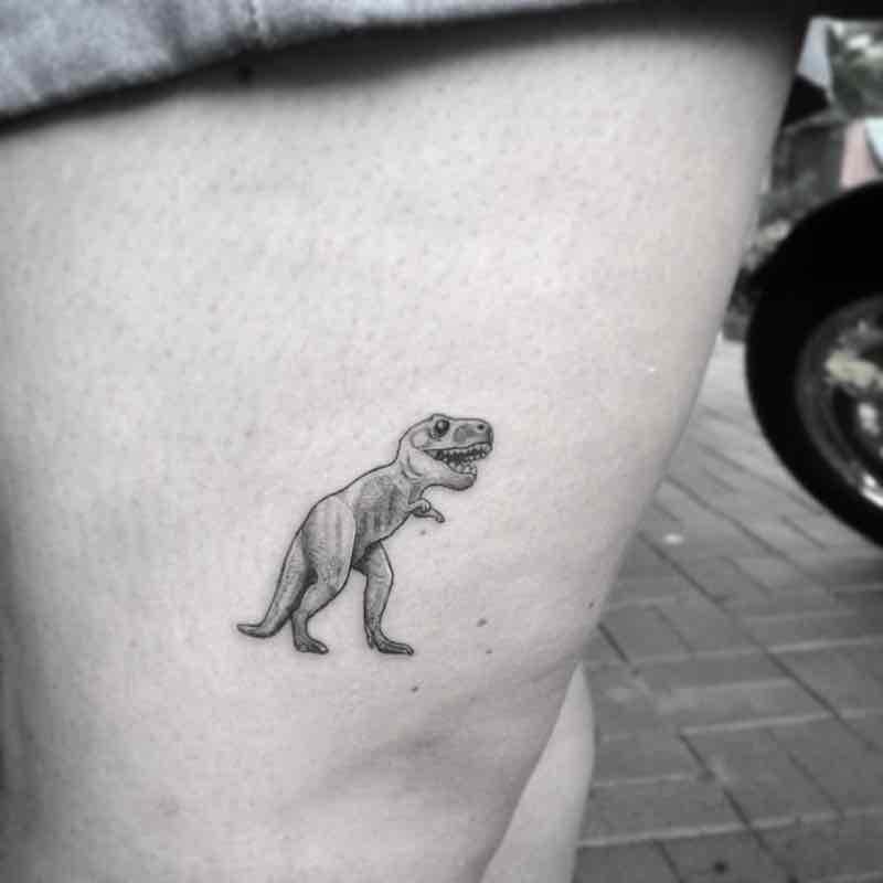 Dinosaur Tattoo 2 by Alexandyr Valentine