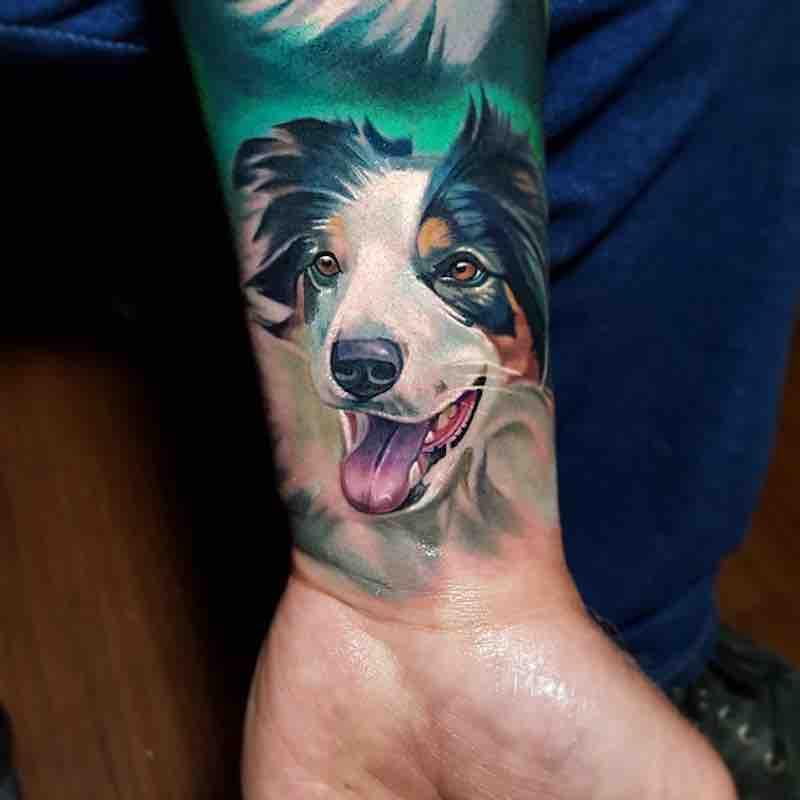 Dog Tattoo 2 by Tyler Malek