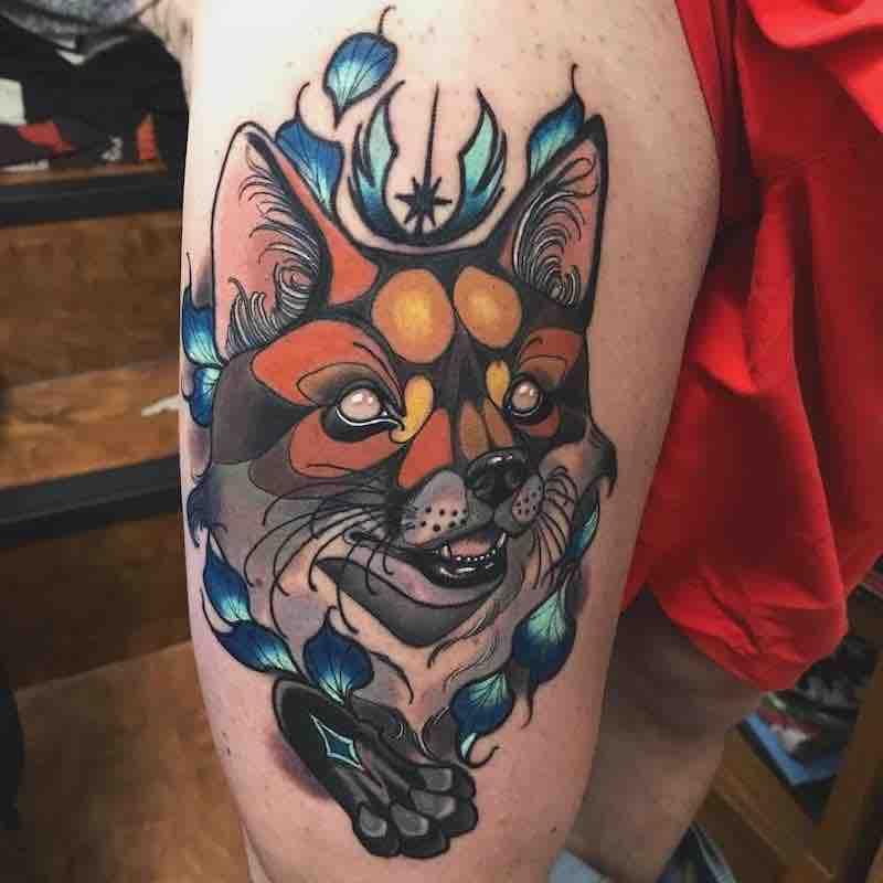 Fox Tattoo 3 by Summer Heath