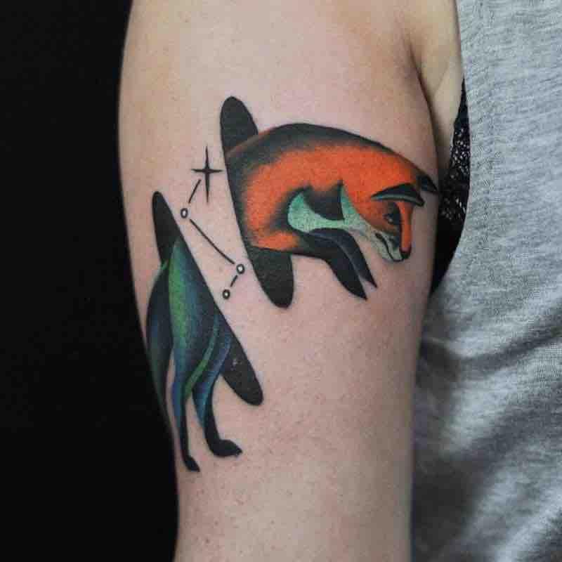 Fox Tattoo by David Peyote
