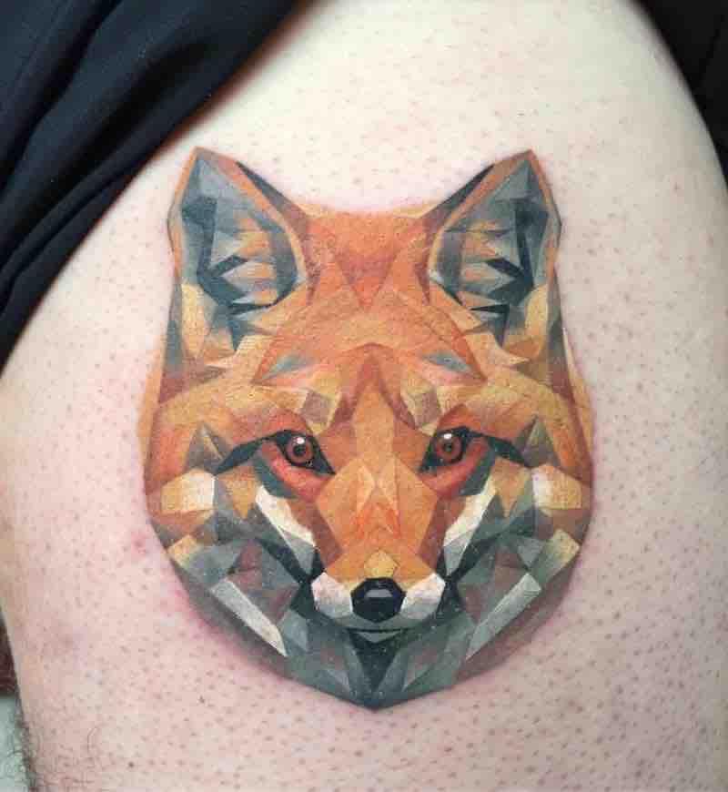 Fox Tattoo by Michelle Maddison