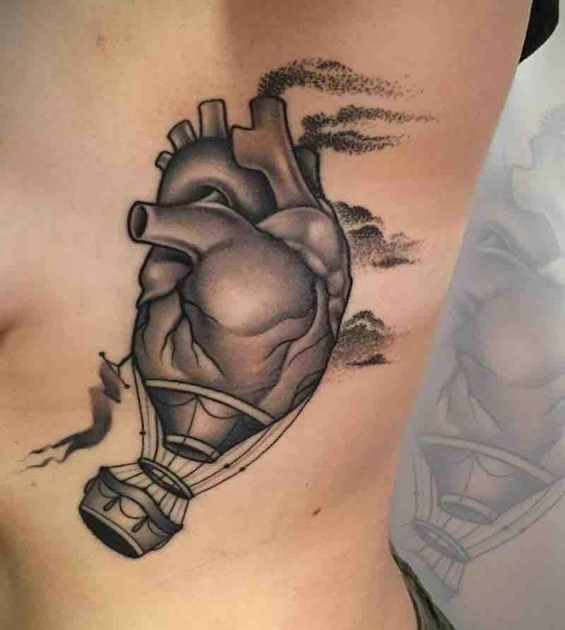 Heart Tattoo by Fulvio Vaccarone