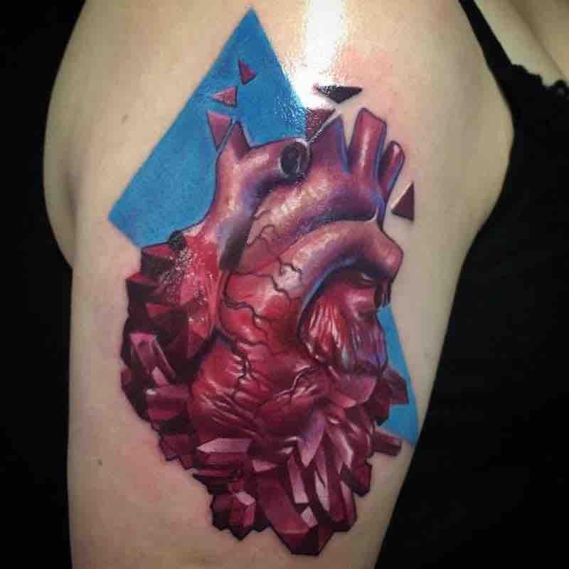 Heart Tattoo by Jesse Rix