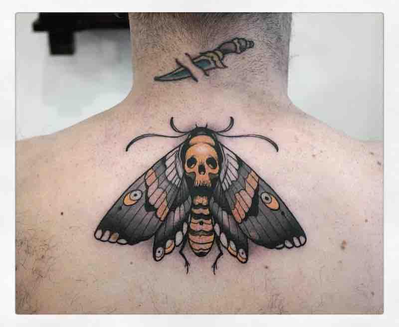 Moth Tattoo 2 by Gianpiero Cavaliere