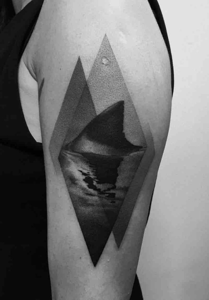 Shark Tattoo by Paweł Indulski