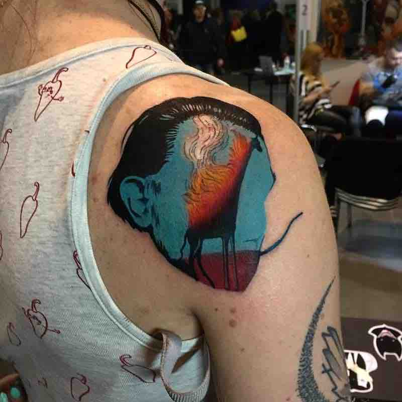 Surreal Tattoo by Daria Stahp
