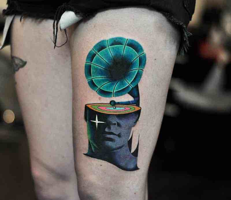 Surreal Tattoo by David Peyote
