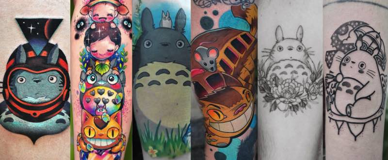 Best Totoro Tattoos