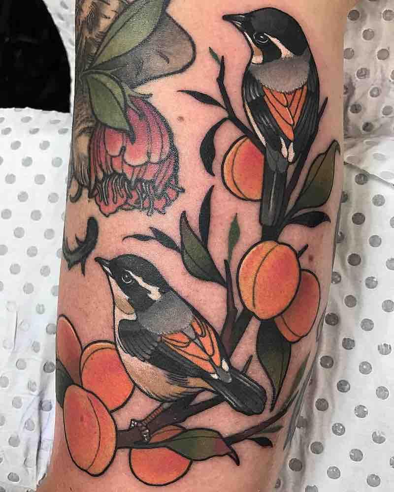 Bird Tattoao 2 by Drew Shallis