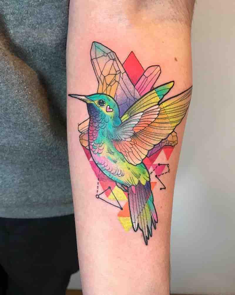 Bird Tattoo 2 by Katie Shocrylas