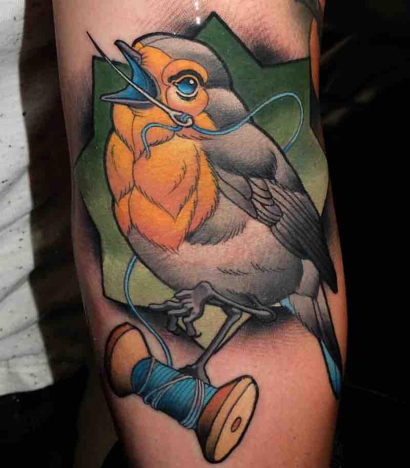 Bird Tattoo 2 by Myrhwan Cortes