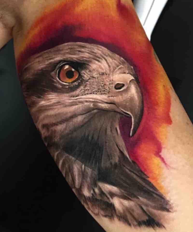 Bird Tattoo by Dean Lawton