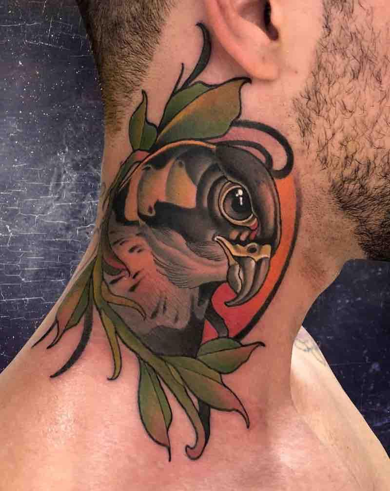 Bird Tattoo by Fulvio Vaccarone