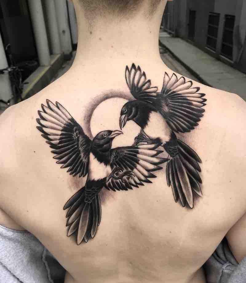Bird Tattoo by Matthew Larkin