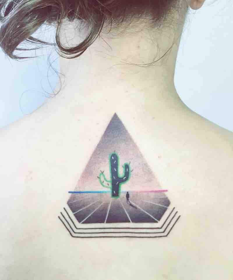 Cactus Tattoo by Aga Kura