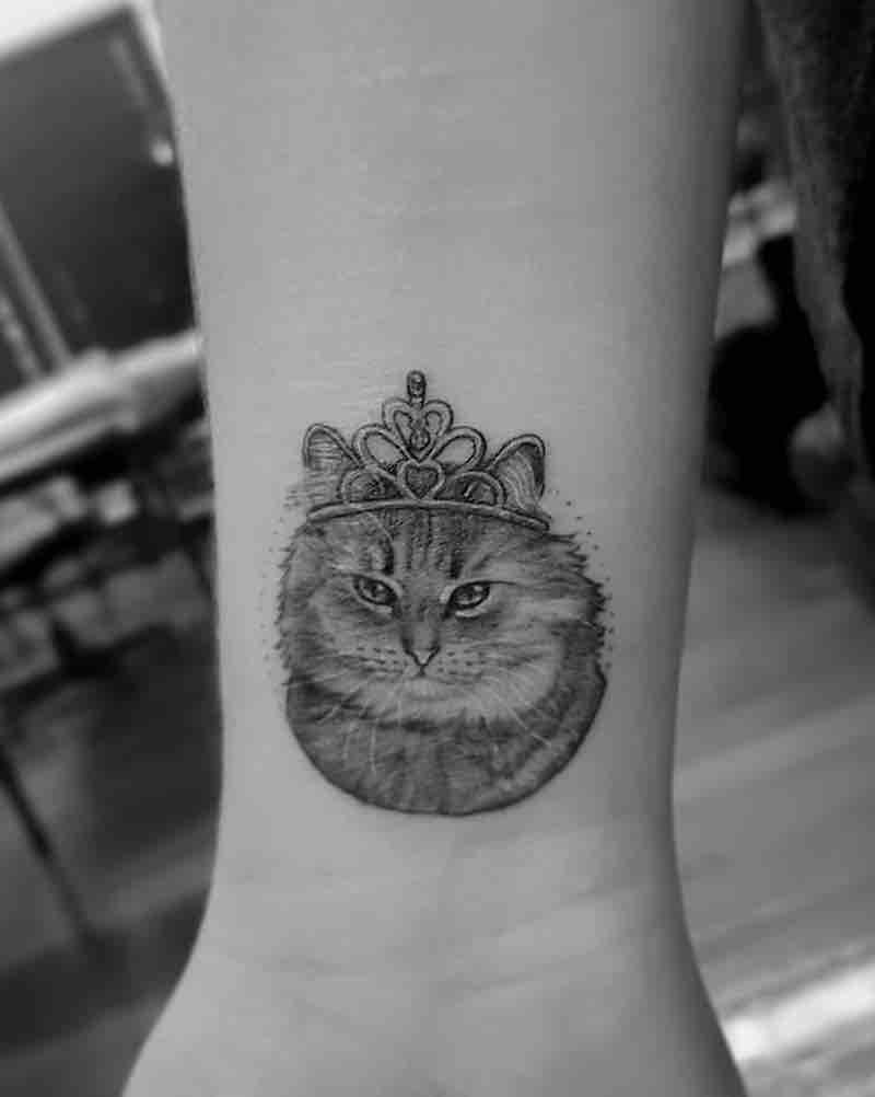 Cat Tattoo by Alexandyr Valentine