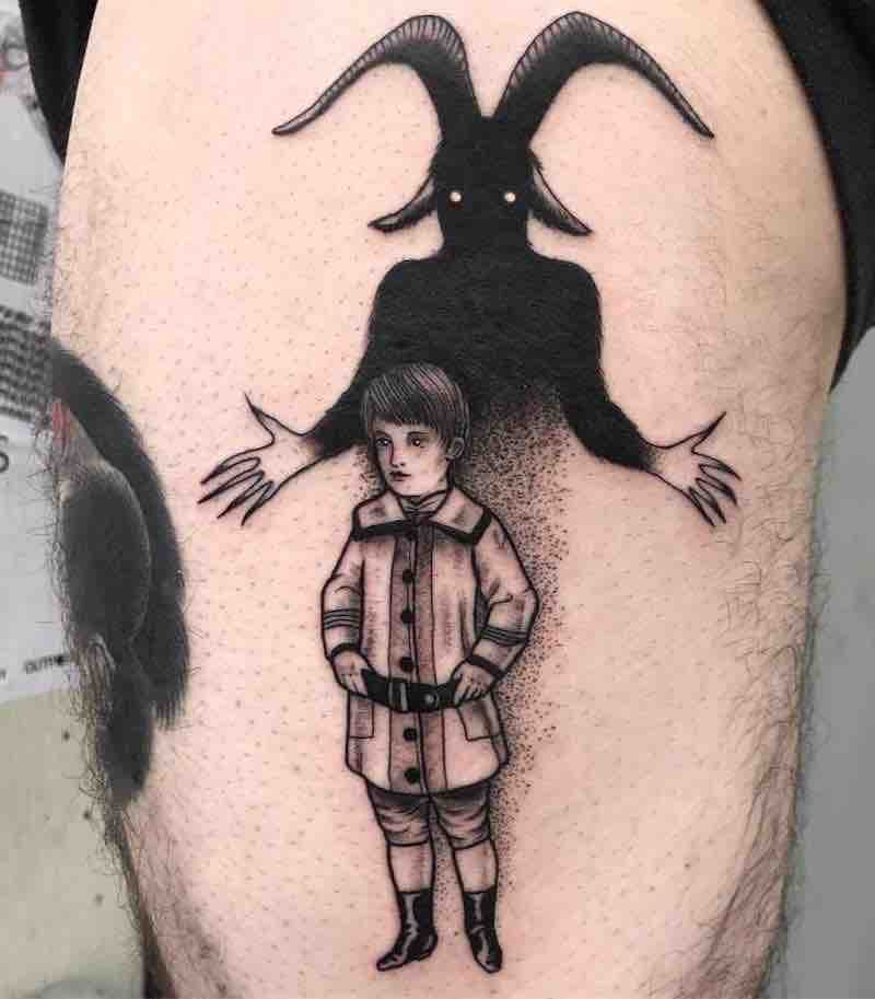 Creepy Tattoo 2 by Natia