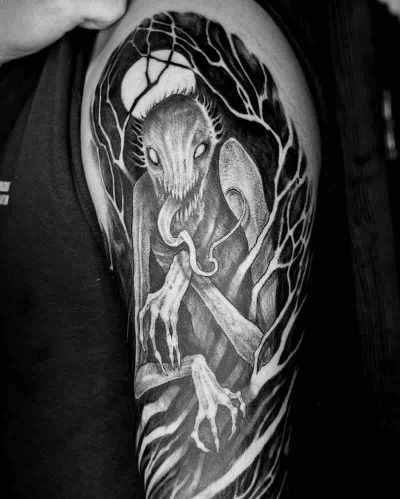 Creepy Tattoo 2 by Titukh