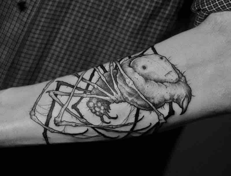 Creepy Tattoo 4 by Titukh
