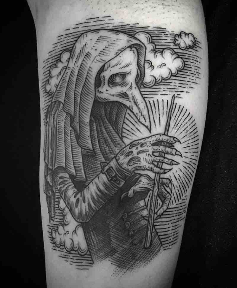 Creepy Tattoo by Willem