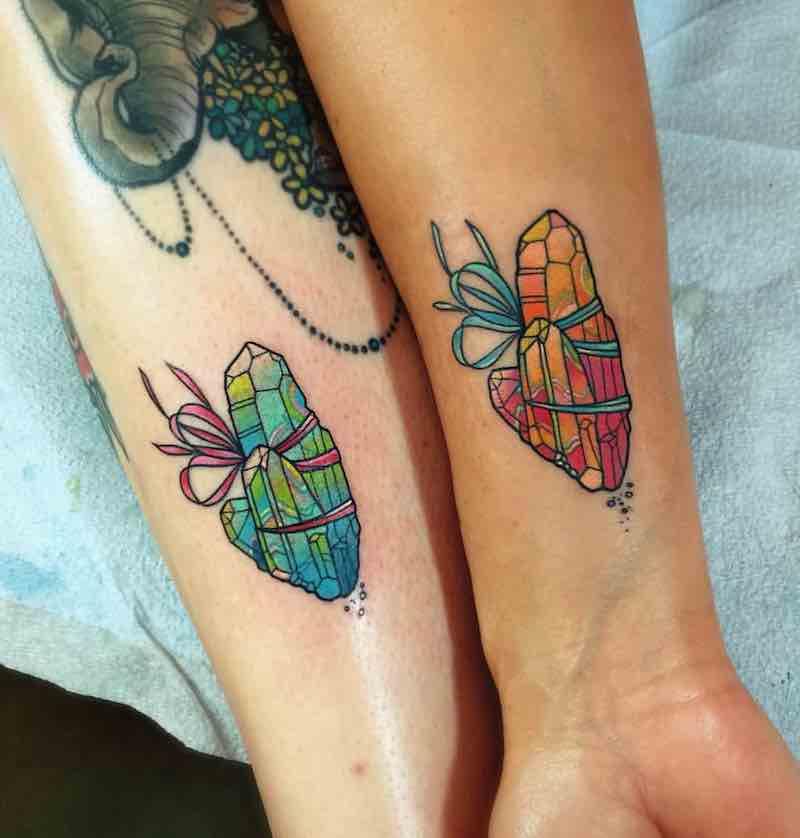 Crystal Tattoo by Katie Shocrylas