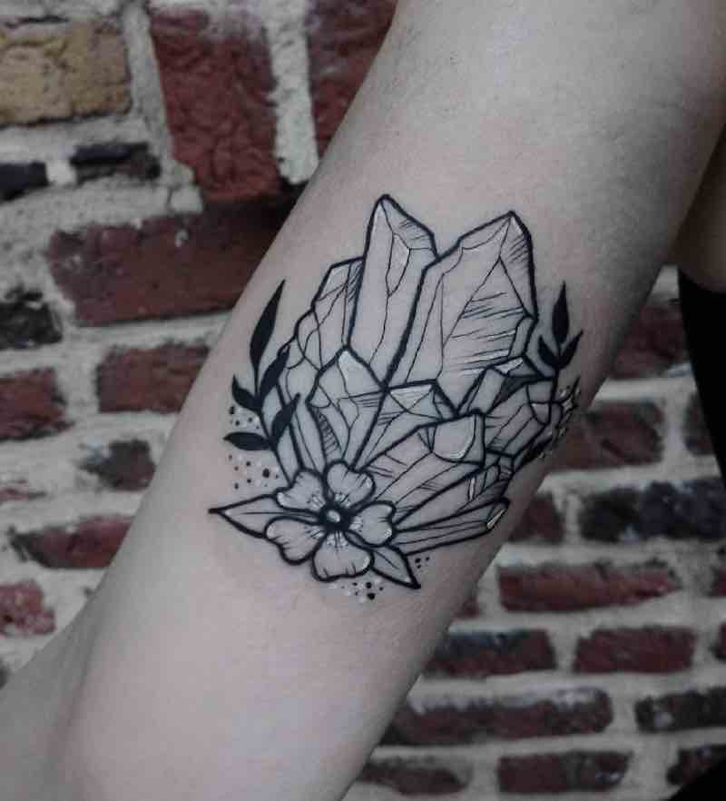 Crystal Tattoo by Sharlotte San