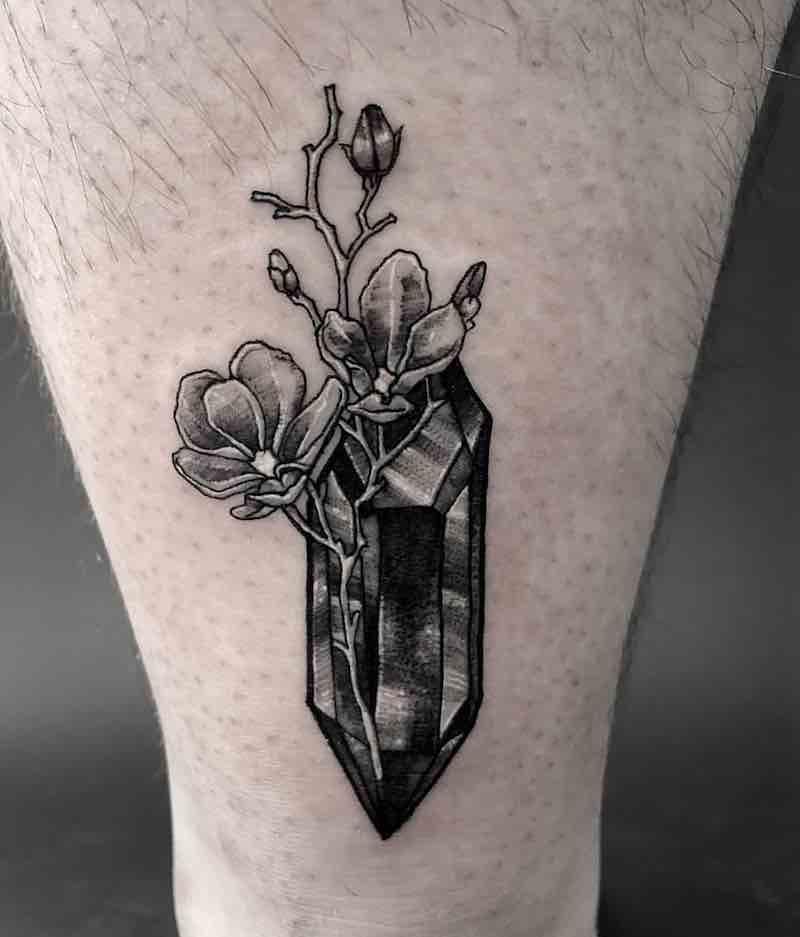 Crystal Tattoo by Spooky Boy Tattoos