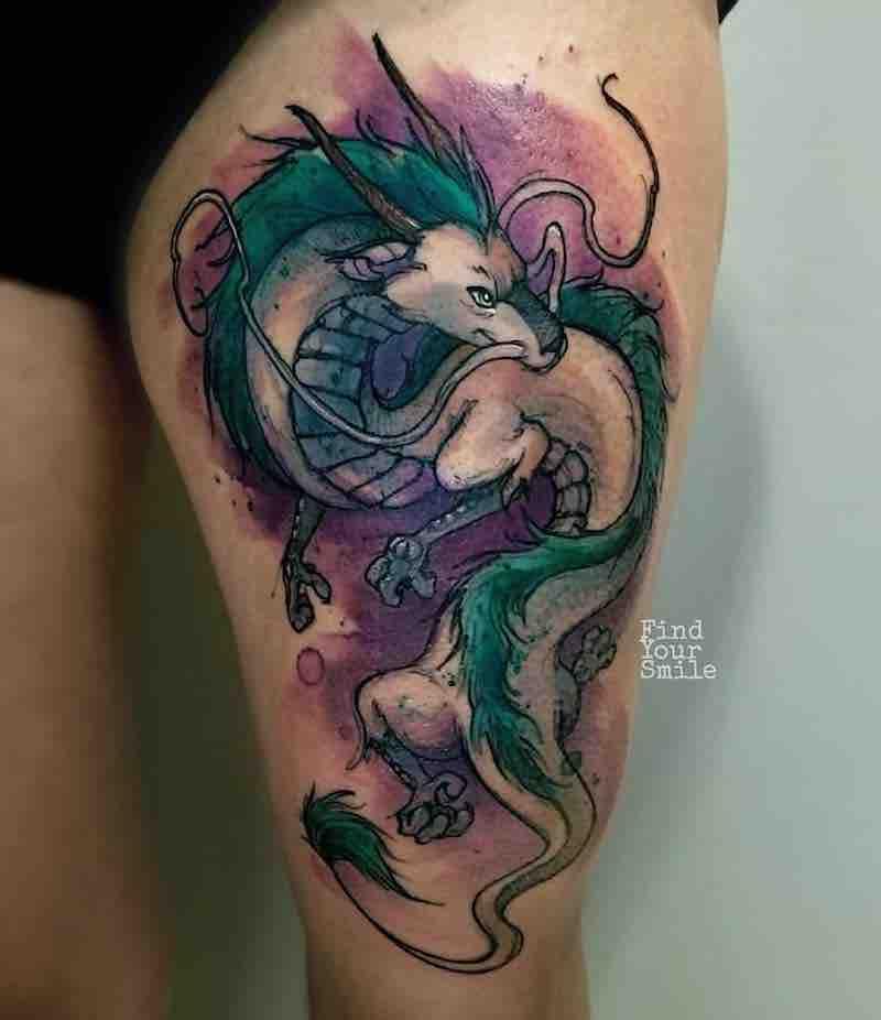 Haku Tattoo 2 by Russell Van Schaick