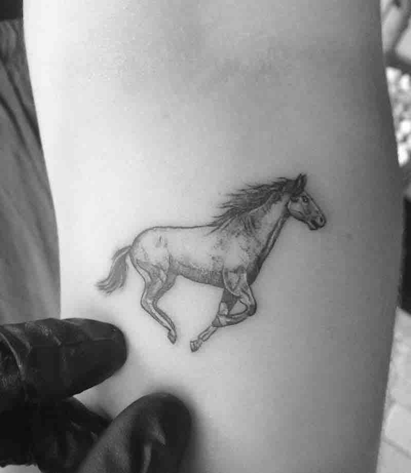 Horse Tattoo 2 by Alexandyr Valentine
