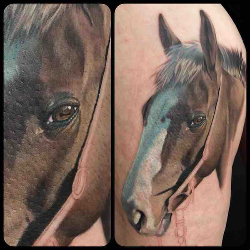 Horse Tattoo by Dean Lawton