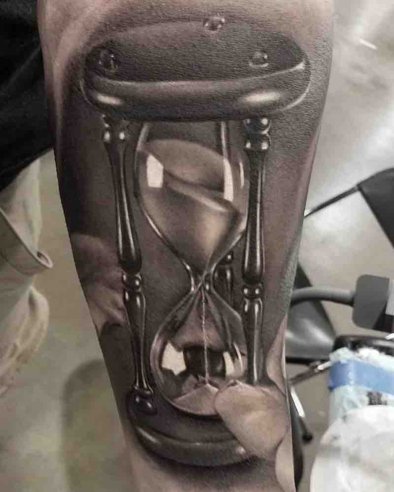 Hourglass Tattoo 2 by David Vega