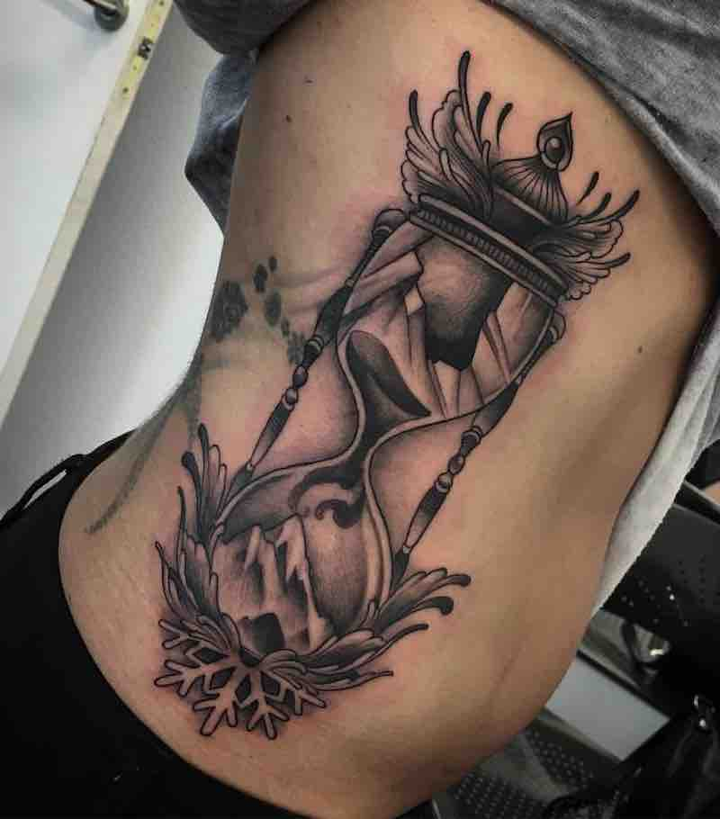 Hourglass Tattoo by Enrik Gispert