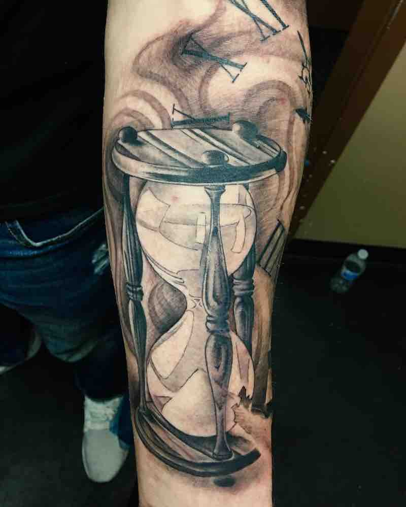 Hourglass Tattoo by John Vitantonio