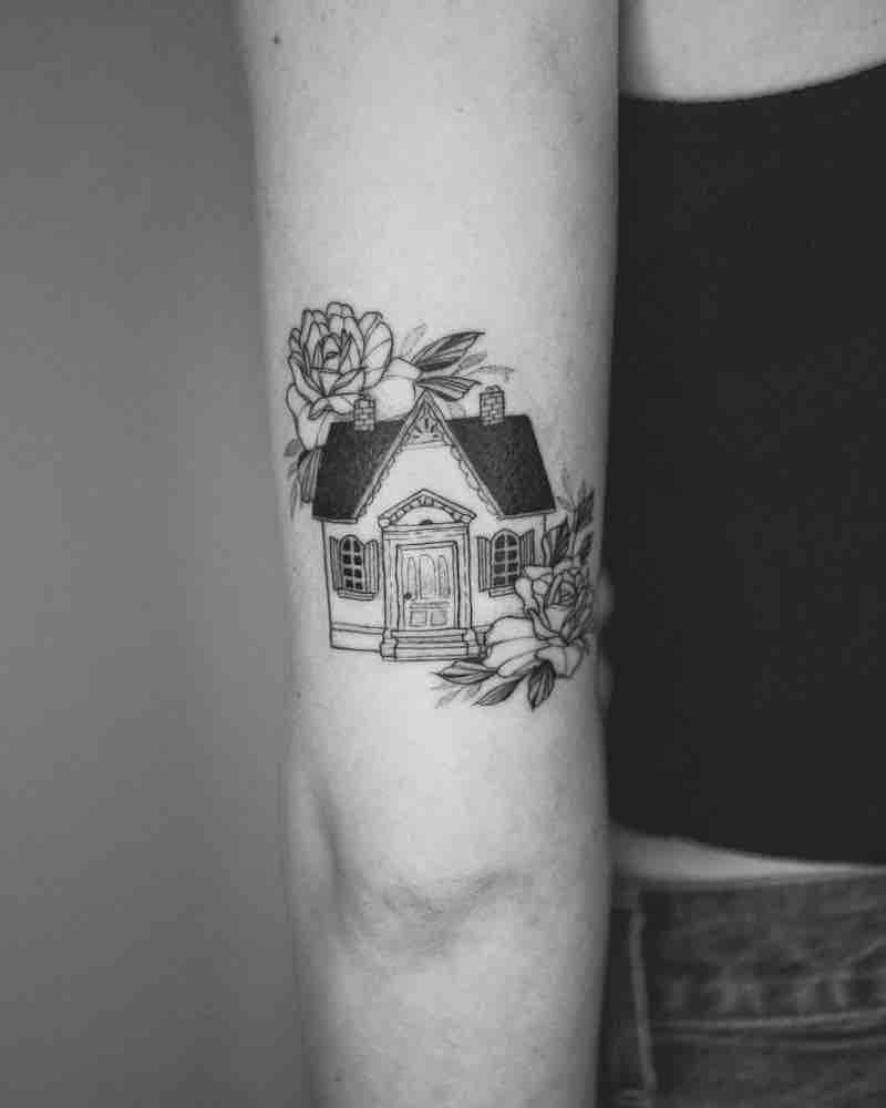 House Tattoo by Phoebe Hunter