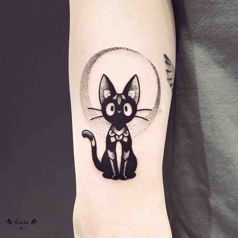 Kikis Delivery Service JIji Tattoo by Violette Chabanon