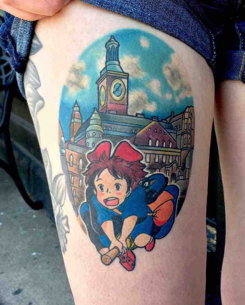 Kikis Delivery Service Tattoo 2 by Kimberly Wall