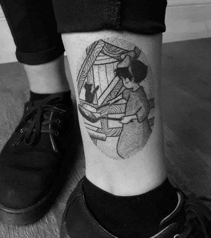 Kikis Delivery Service Tattoo 5 by Jess Oxley