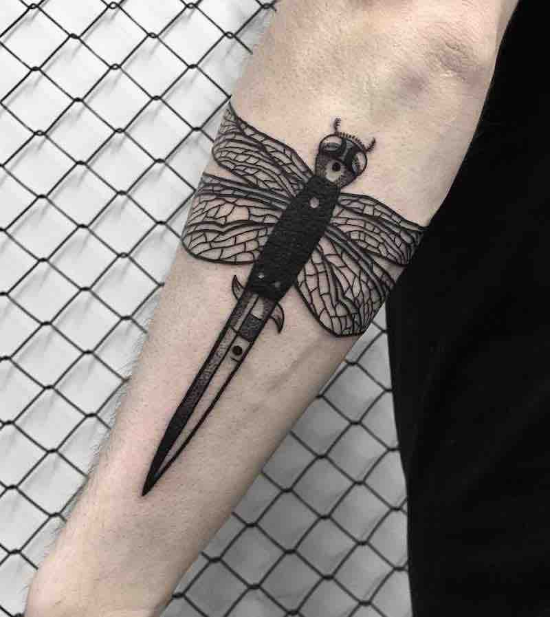 Knife Tattoo 3 by SLEE