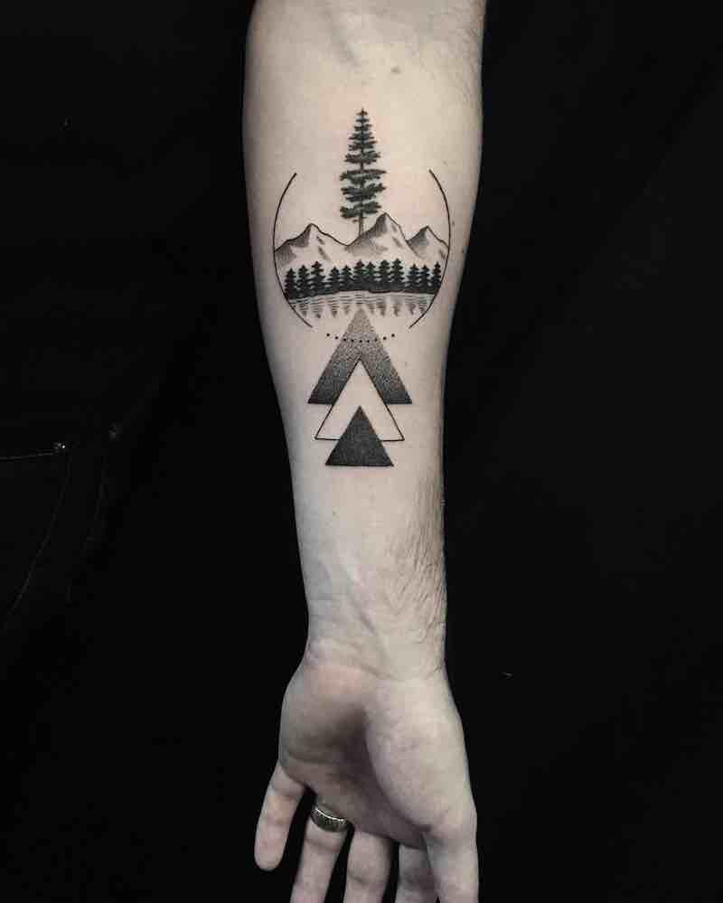 Landscape Tattoo by Eli