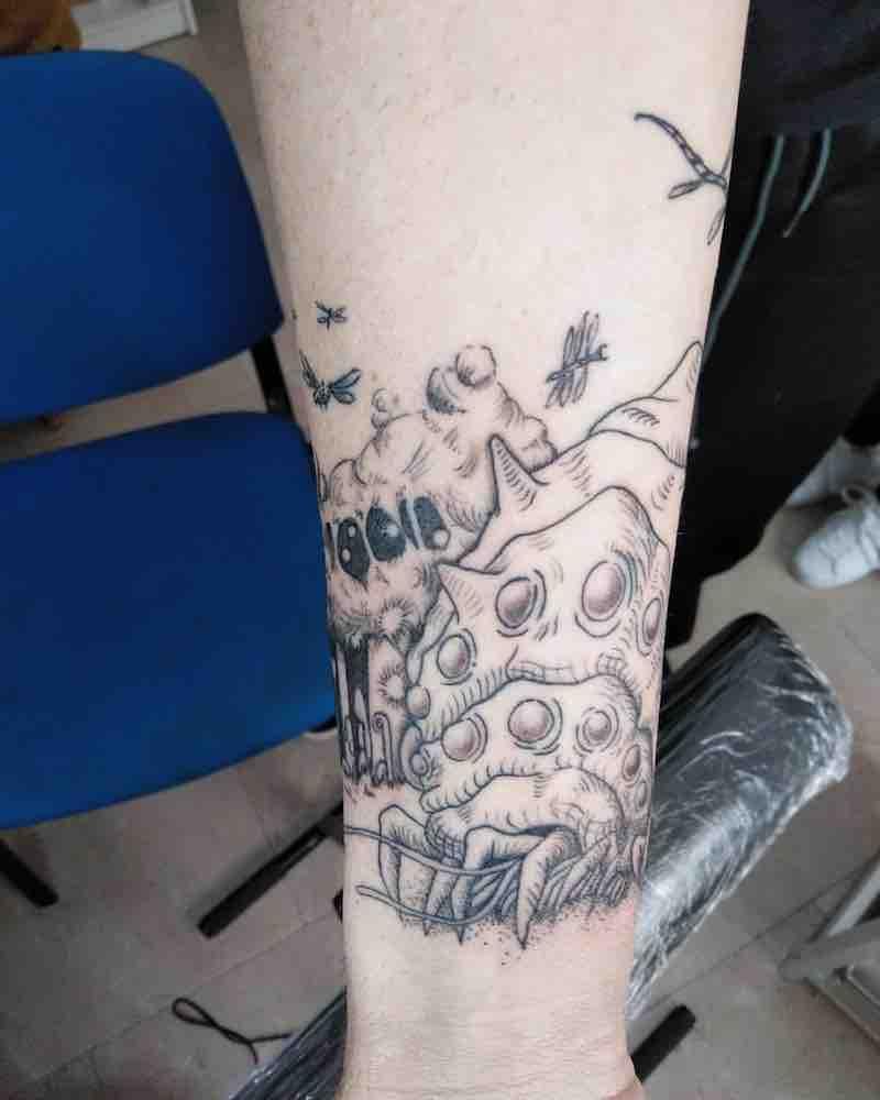 Nausicaa Tattoo 2 by Andrea Rope