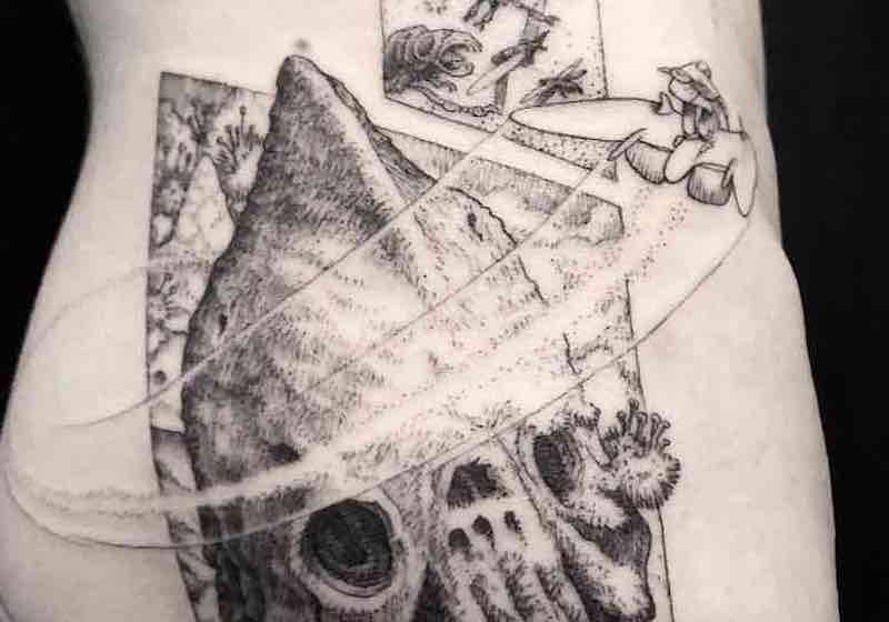 Nausicaa Tattoo Eli