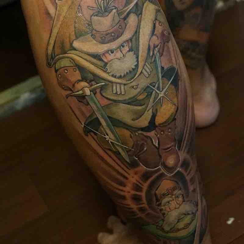 Nausicaa Tattoo by Hori Benny