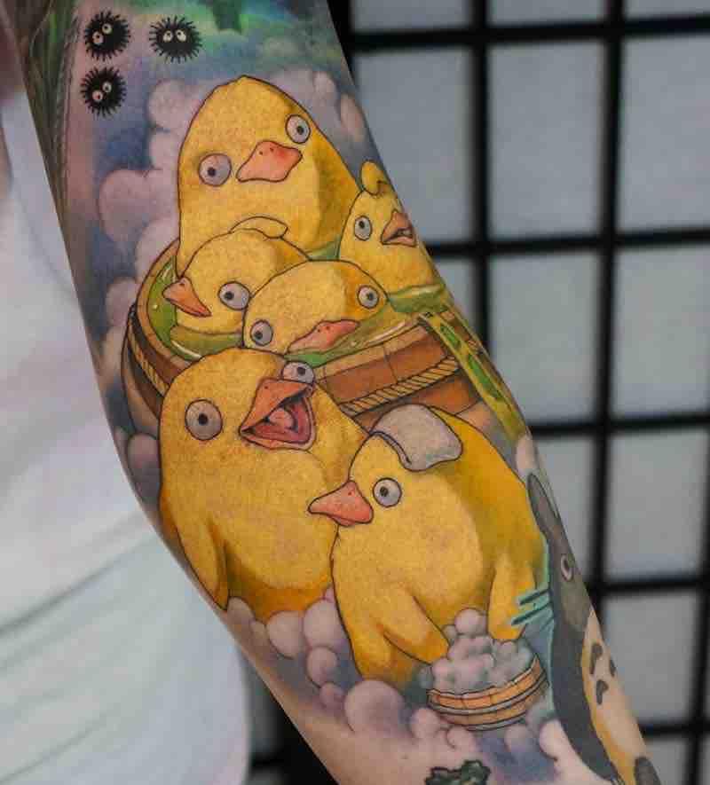 Ootori-Sama Tattoo by Hori Benny