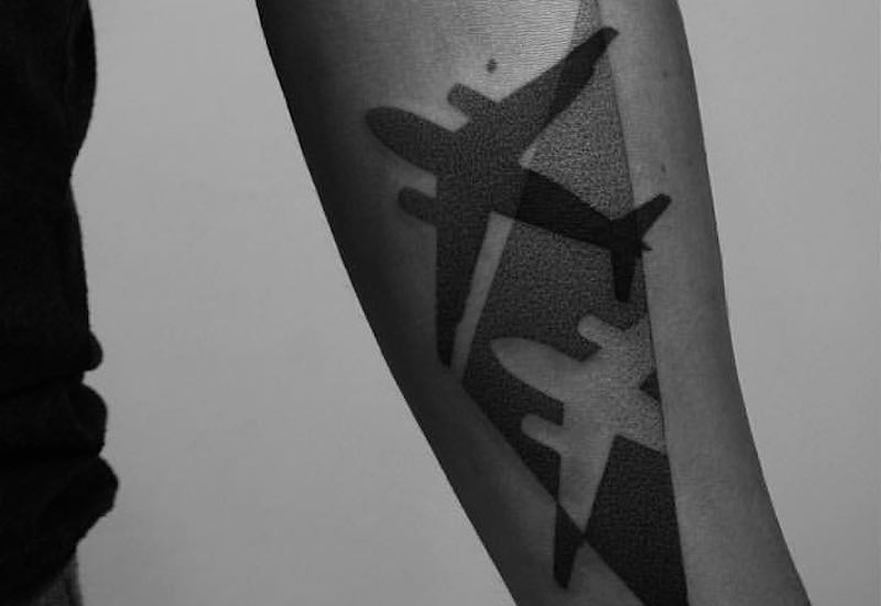 21 Outstanding Plane Tattoos