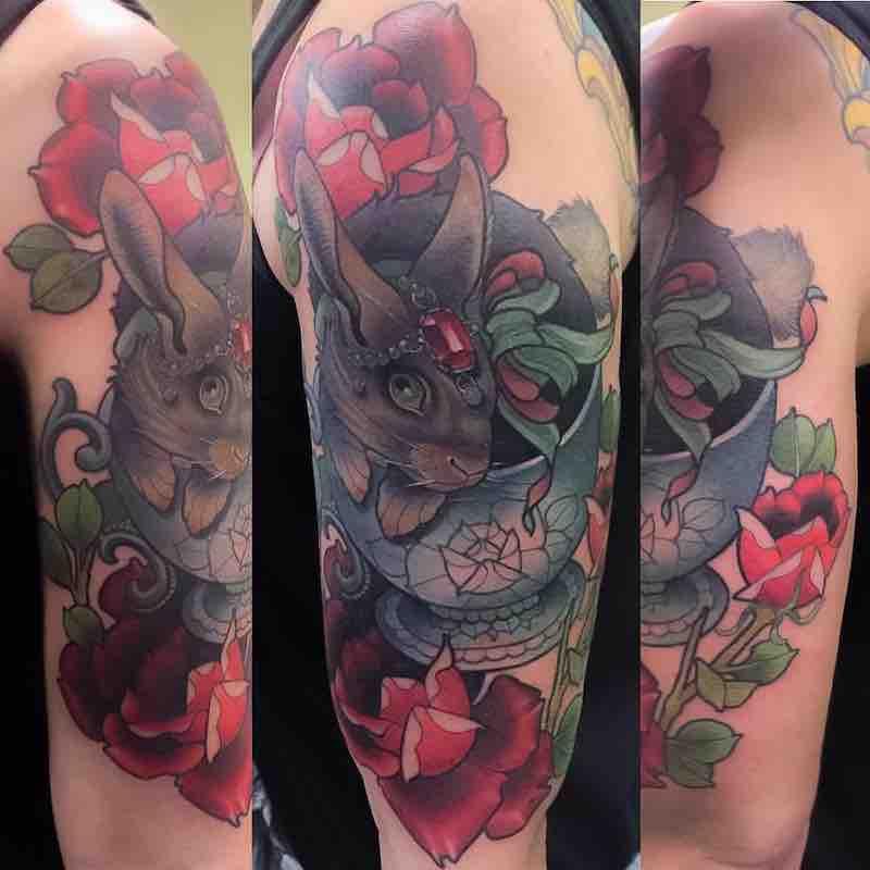 Rabbit Tattoo by Billy Weigler