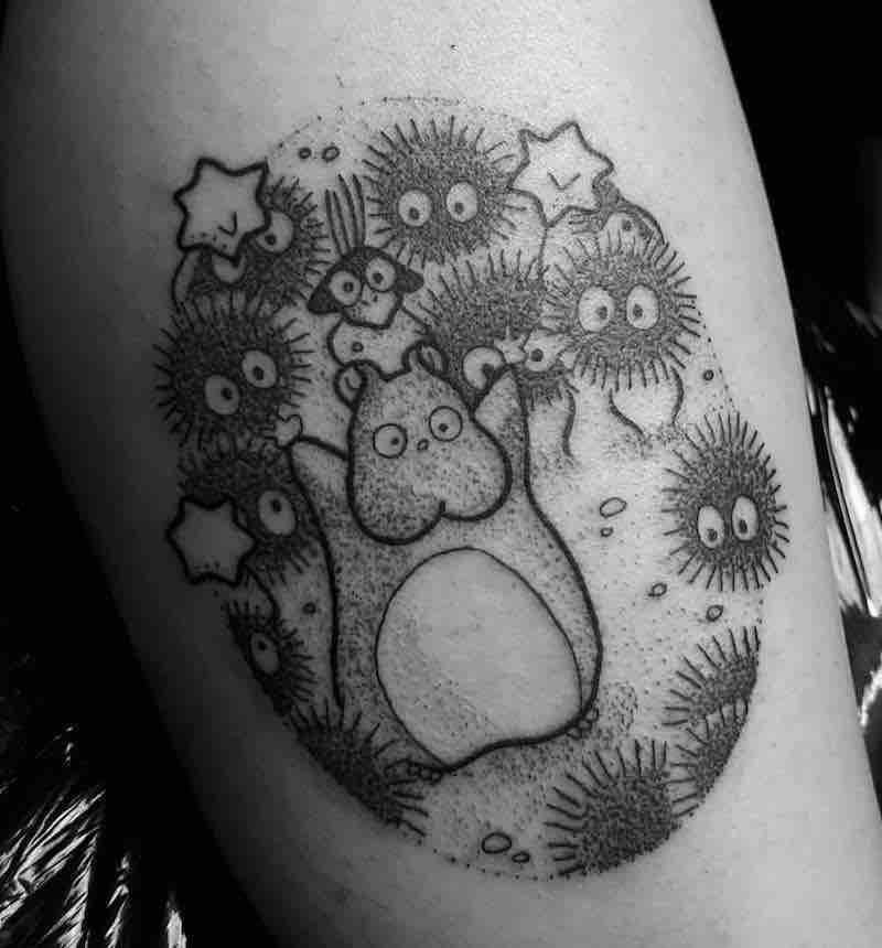 Soot Sprites Tattoo 4 by Jess Oxley