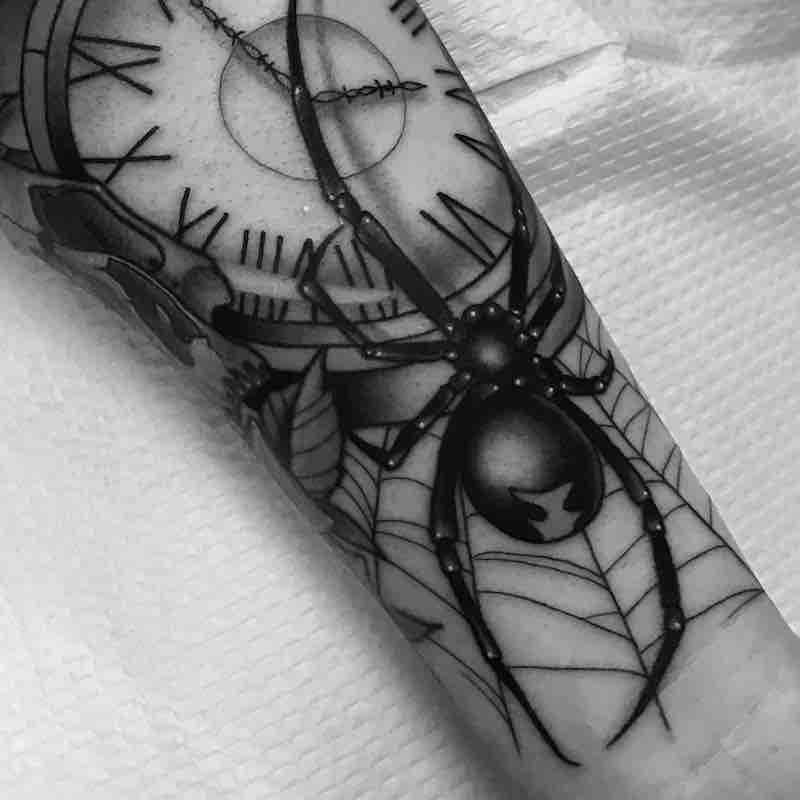 Spider Tattoo by Patrick Whiting