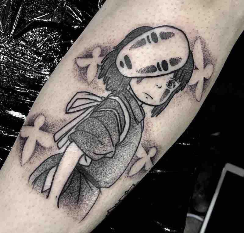 Spirited Away Chihiro Tattoo 2 by Raine Knight